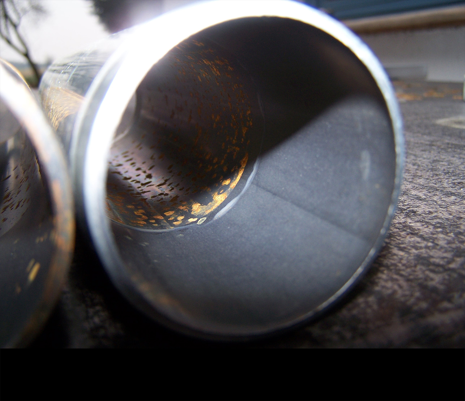 Stahlrohr - temporärer Korrosionsschutz